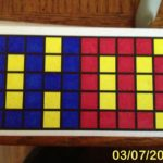 CHOD makes a pattern 3-7-13
